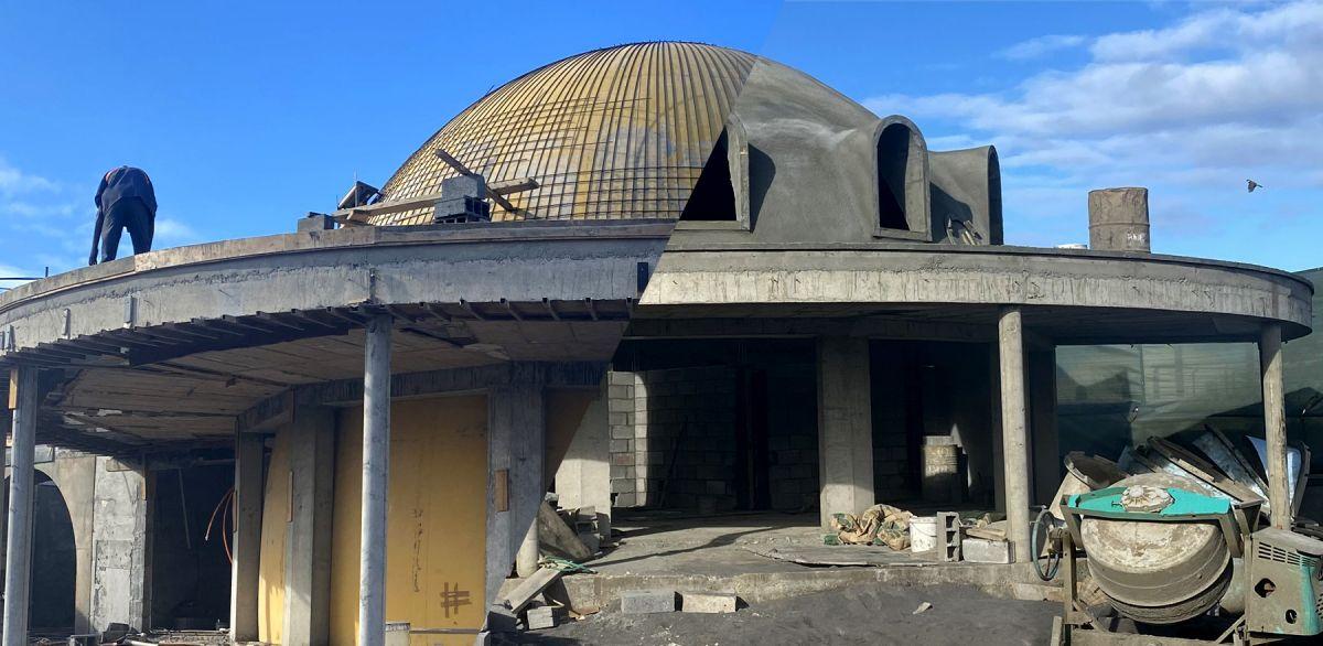 Montage-toit-dome